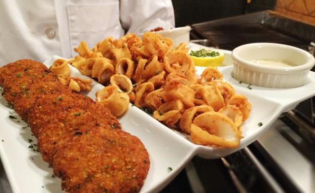 Plates_calamariFishCakes